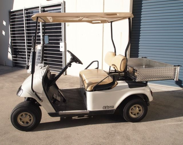 Very Tidy 2011 Ez Go Utility 48 Volt Golf Cart For Sale