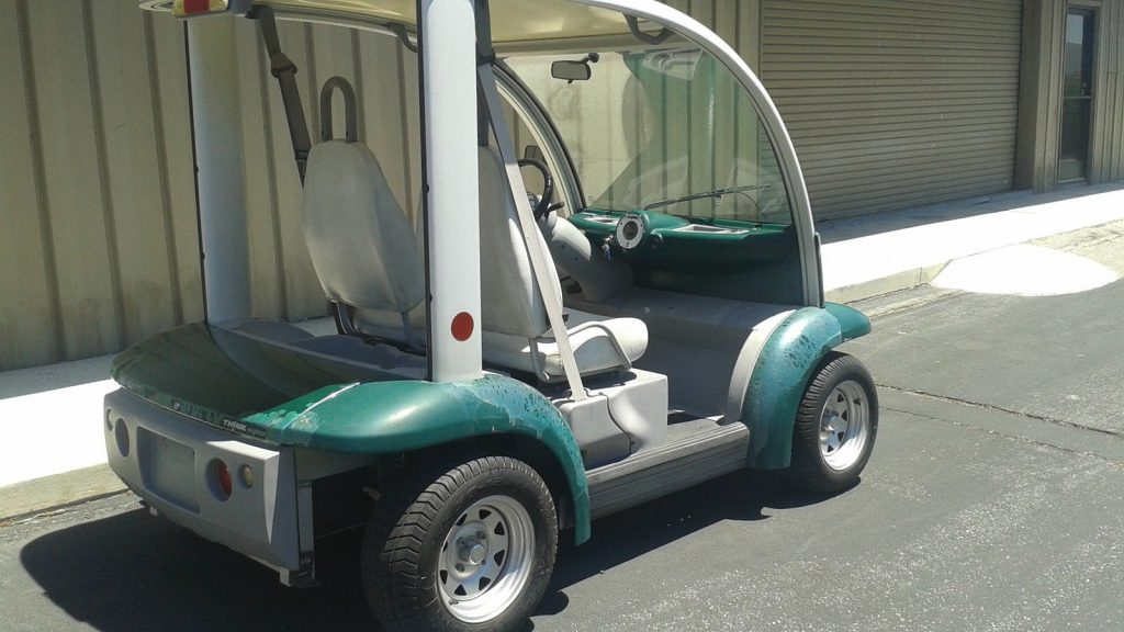 72 volt 2002 Ford think 2 Passenger seat golf cart