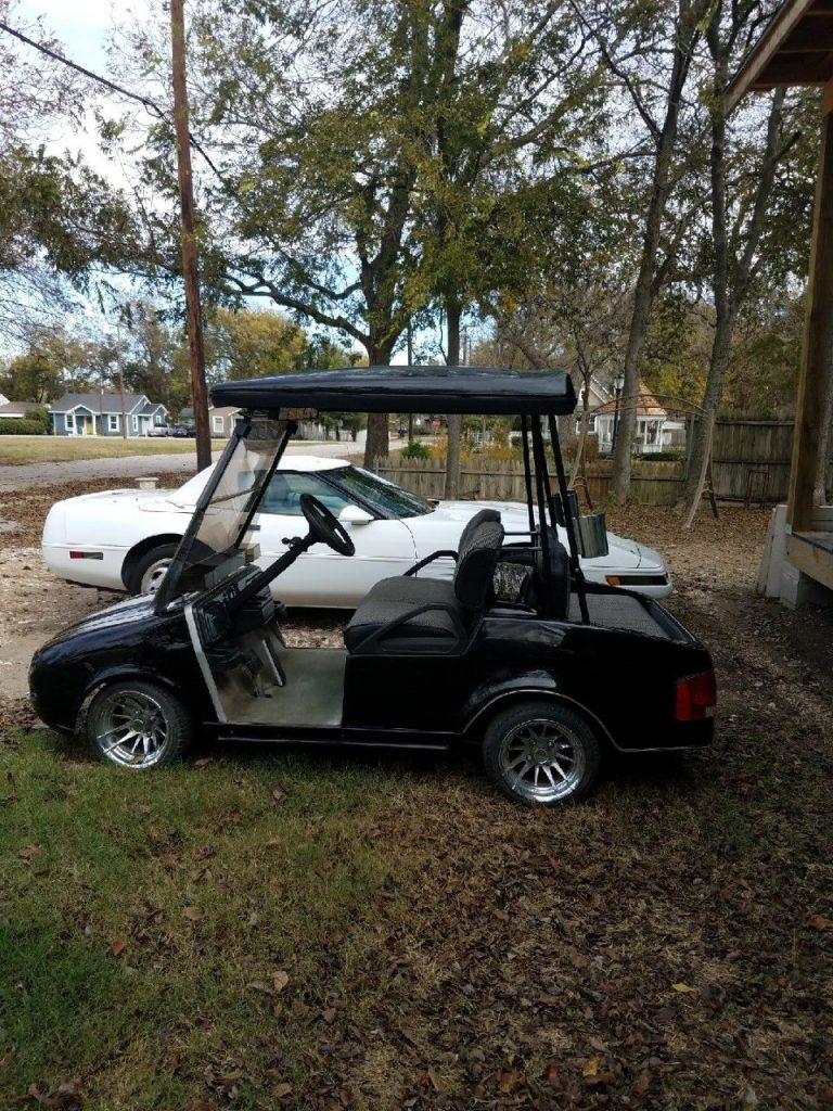 Customized Jaguar 2015 Club Car golf cart