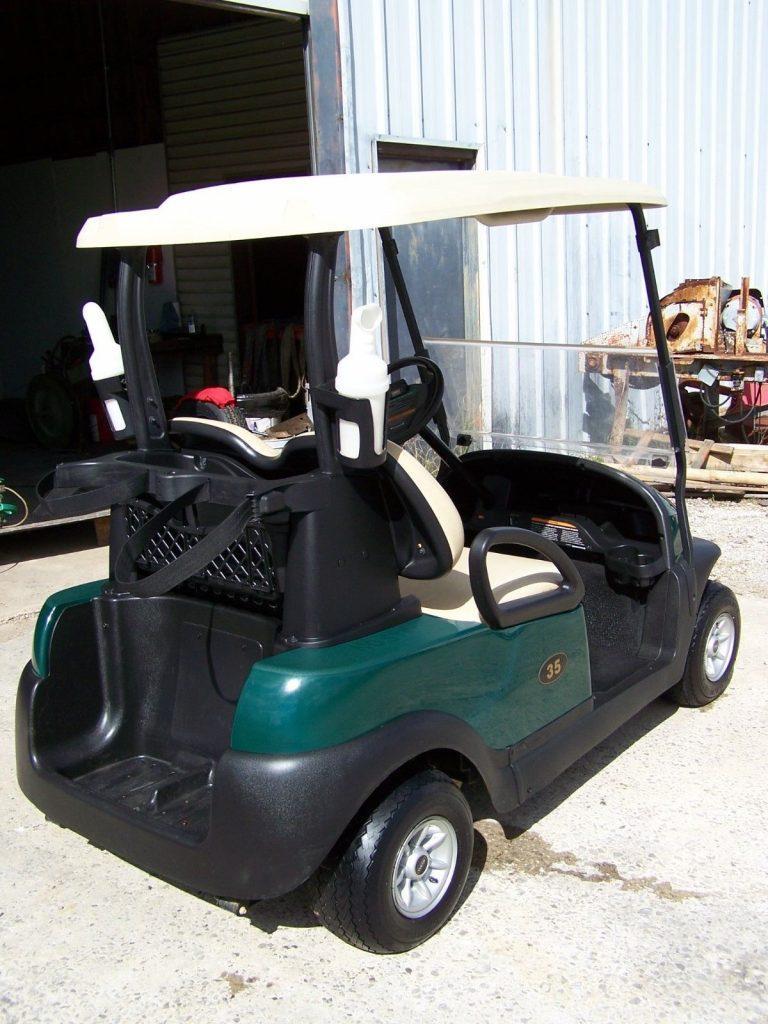 minor dents 2015 Club Car Precedent golf cart