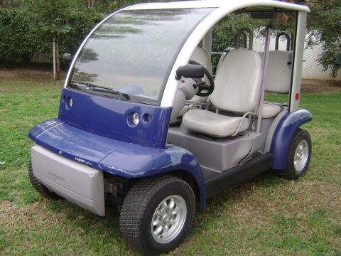 older paint 2002 Ford Think 4 Passenger golf cart for sale
