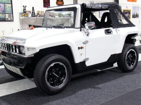 almost unused 2013 Hummer MEV MX T golf cart for sale