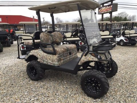 camo paint 2013 Yamaha 48v Electric golf cart for sale