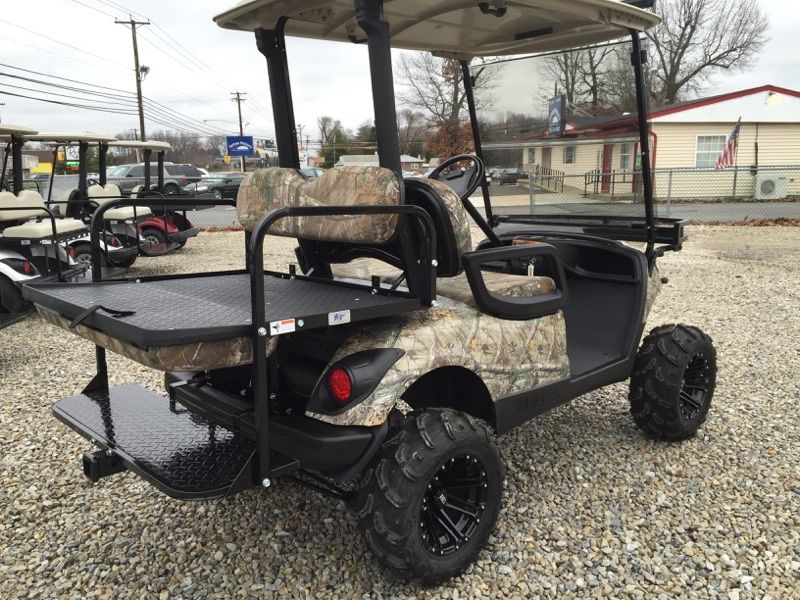 camo paint 2013 Yamaha 48v Electric golf cart