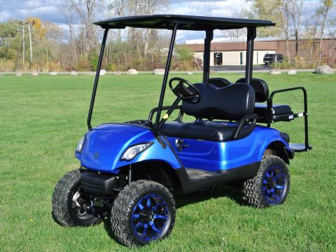 custom painted  2014 Yamaha GOLF CART for sale