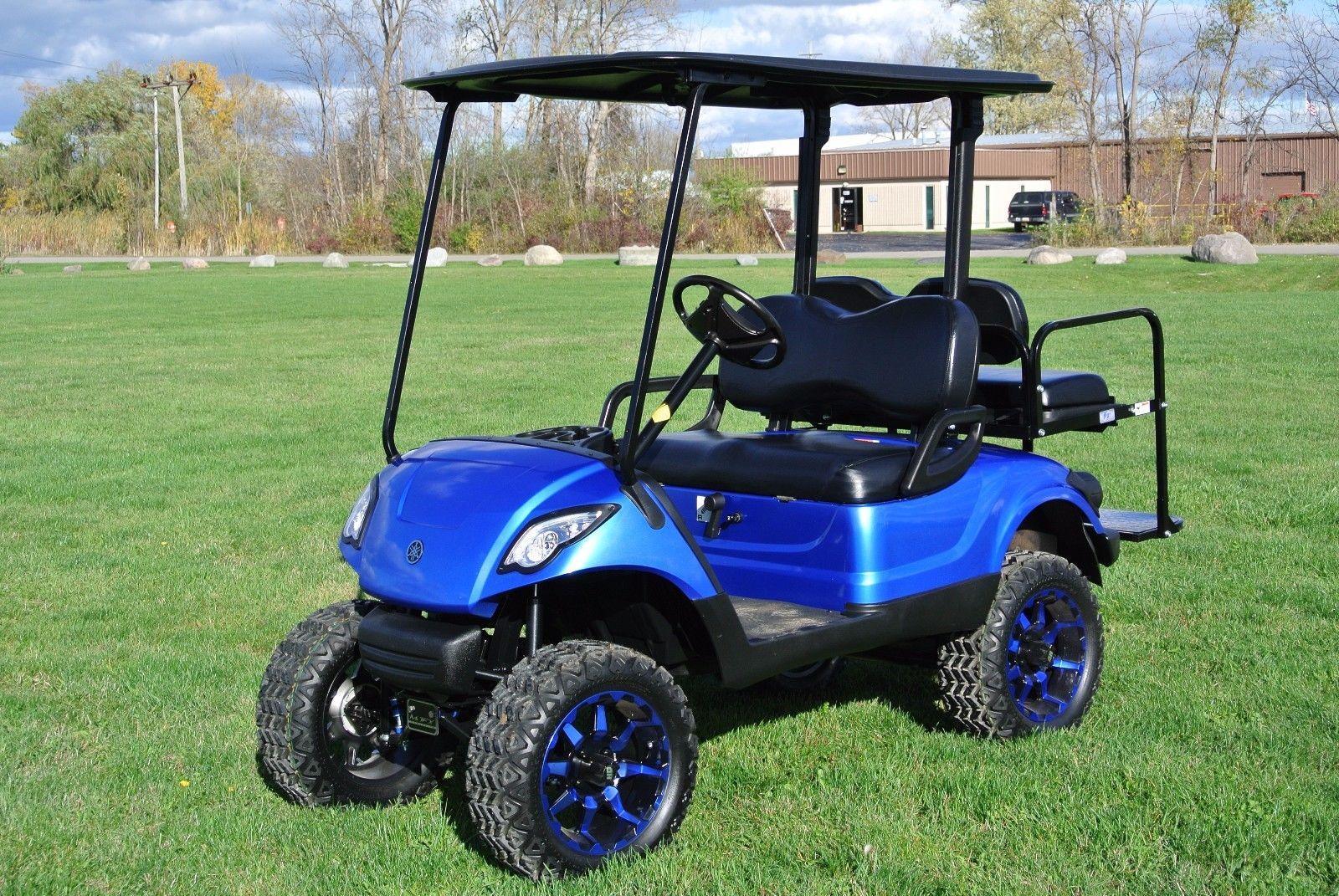 Custom Painted 2014 Yamaha Golf Cart For Sale