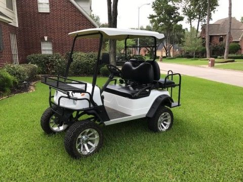 custom rims 2014 star car 4 Passenger Sport 48V golf cart for sale