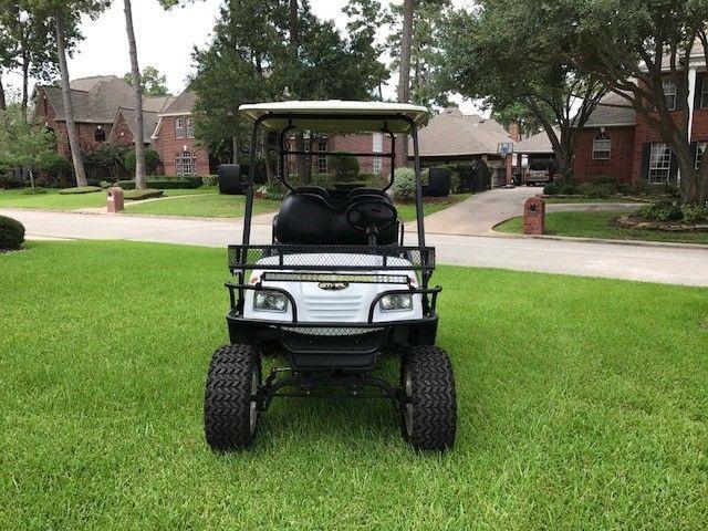 custom rims 2014 star car 4 Passenger Sport 48V golf cart