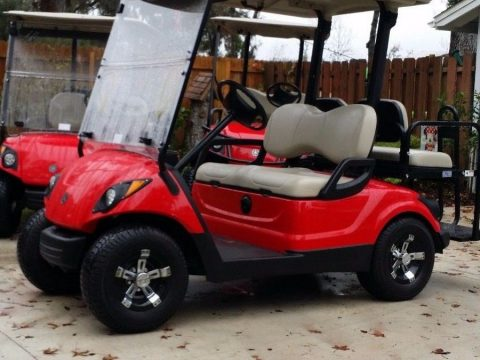 Refurbished 2013 Yamaha golf cart for sale