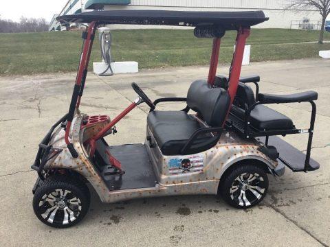 custom 2007 YDR Yamaha golf cart for sale