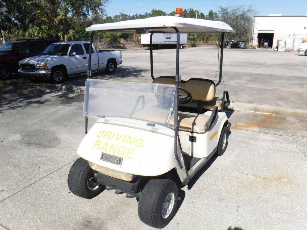 Does Not Start 2001 Ezgo Golf Cart For Sale