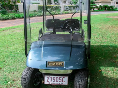 fully serviced 2001 EZGO TXT Golf Cart for sale
