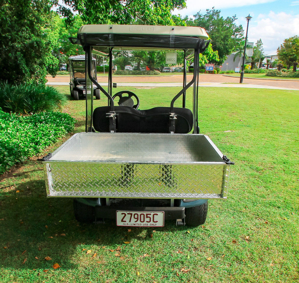 fully serviced 2001 EZGO TXT Golf Cart