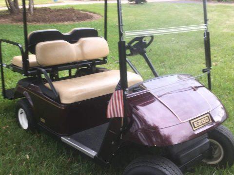 garage kept 2006 EZGO TXT 36 volt four seater golf cart for sale