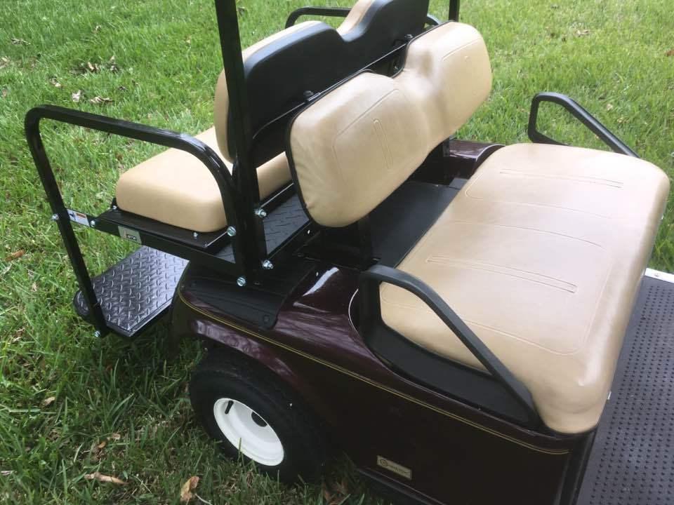 garage kept 2006 EZGO TXT 36 volt four seater golf cart