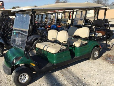 original green paint 2010 Yamaha golf cart for sale
