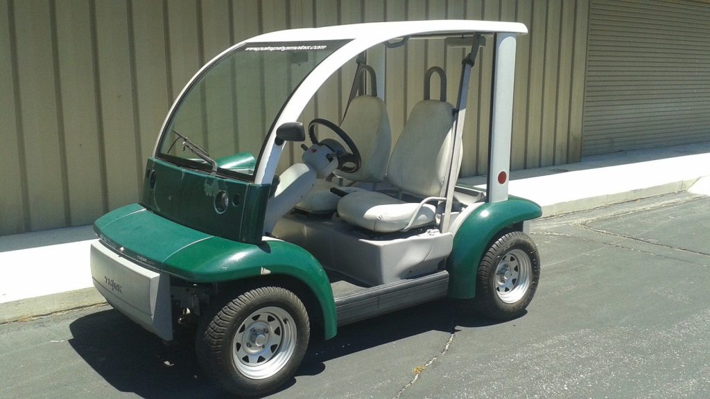 ready to go 2002 Ford Think 2 Passenger seat golf cart