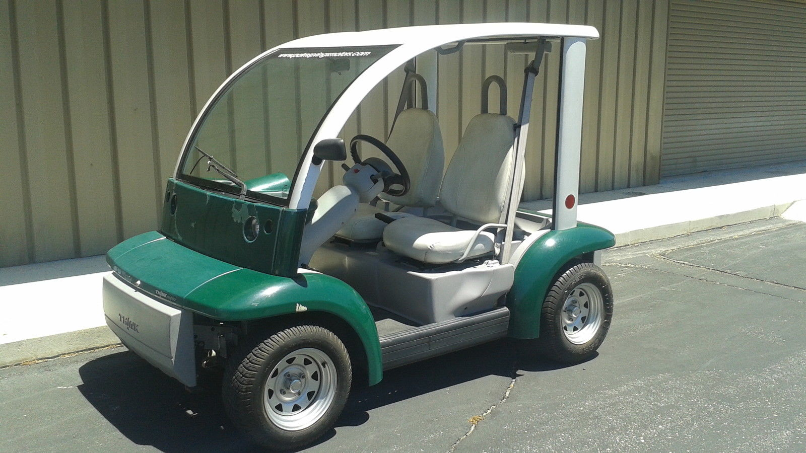 Ready To Go 2002 Ford Think 2 Passenger Seat Golf Cart For