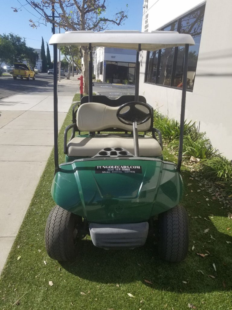 reupholstered seats 2010 Yamaha golf cart