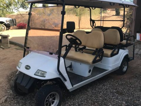 some dents 2011 Star EV golf cart for sale