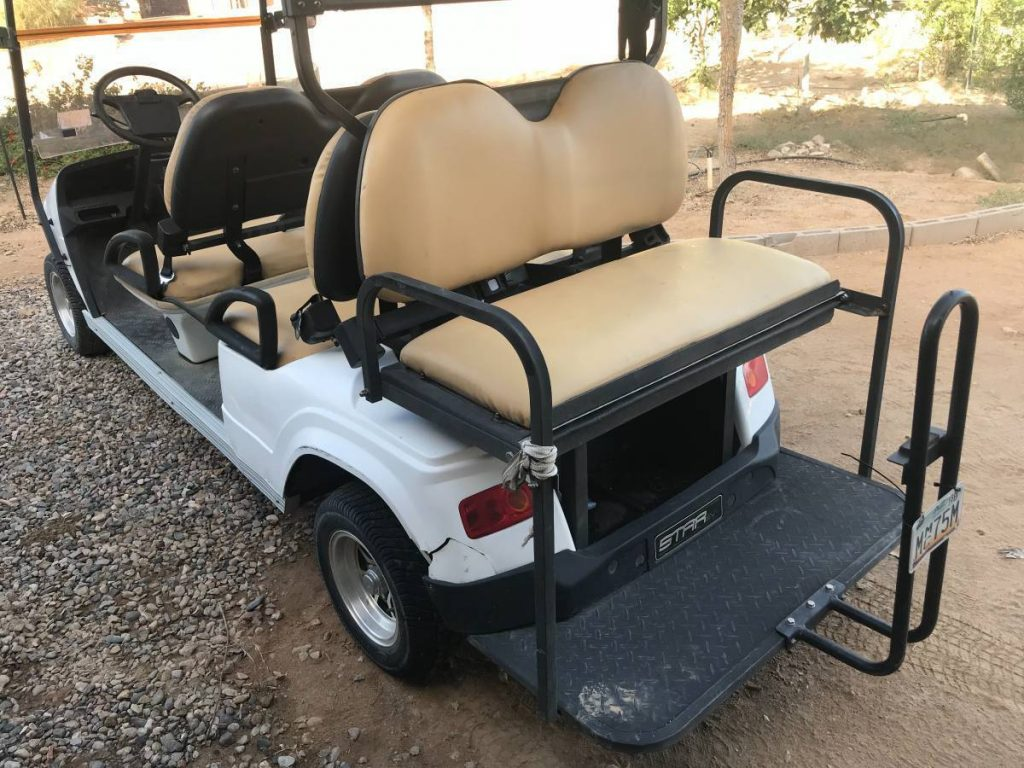 some dents 2011 Star EV golf cart