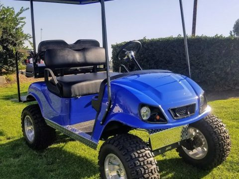 Custom Lifted 1999 EZGO TXT Electric 36V Golf Cart for sale