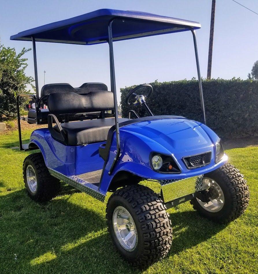 Custom Lifted 1999 EZGO TXT Electric 36V Golf Cart For Sale