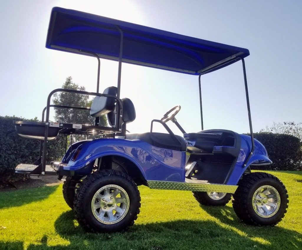 Custom Lifted 1999 EZGO TXT Electric 36V Golf Cart