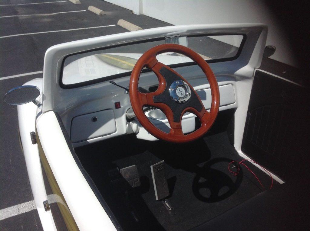 customized 2017 ACG 39 Roadster Golf Cart