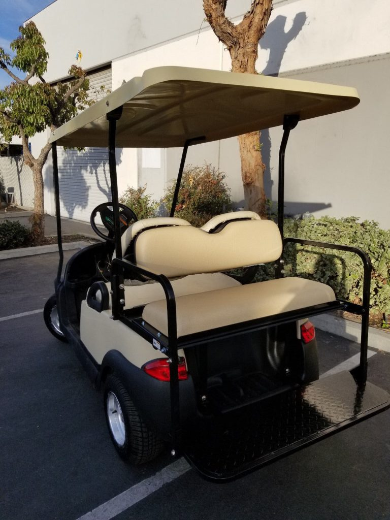 extended roof 2017 Club Car Precedent Custom Golf Cart