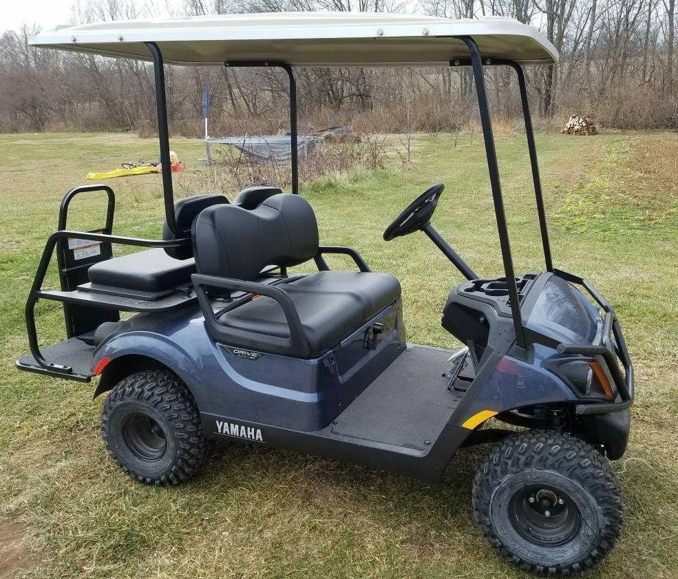 gas powered 2018 Yamaha Golf Cart