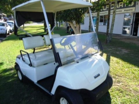 good shape 2002 Yamaha G19E golf cart for sale