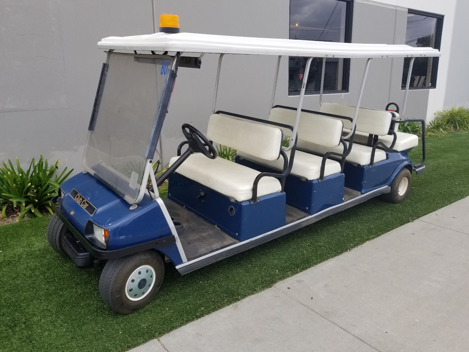 Limousine 2002 Club Car Villager 8 Passenger Golf Cart For