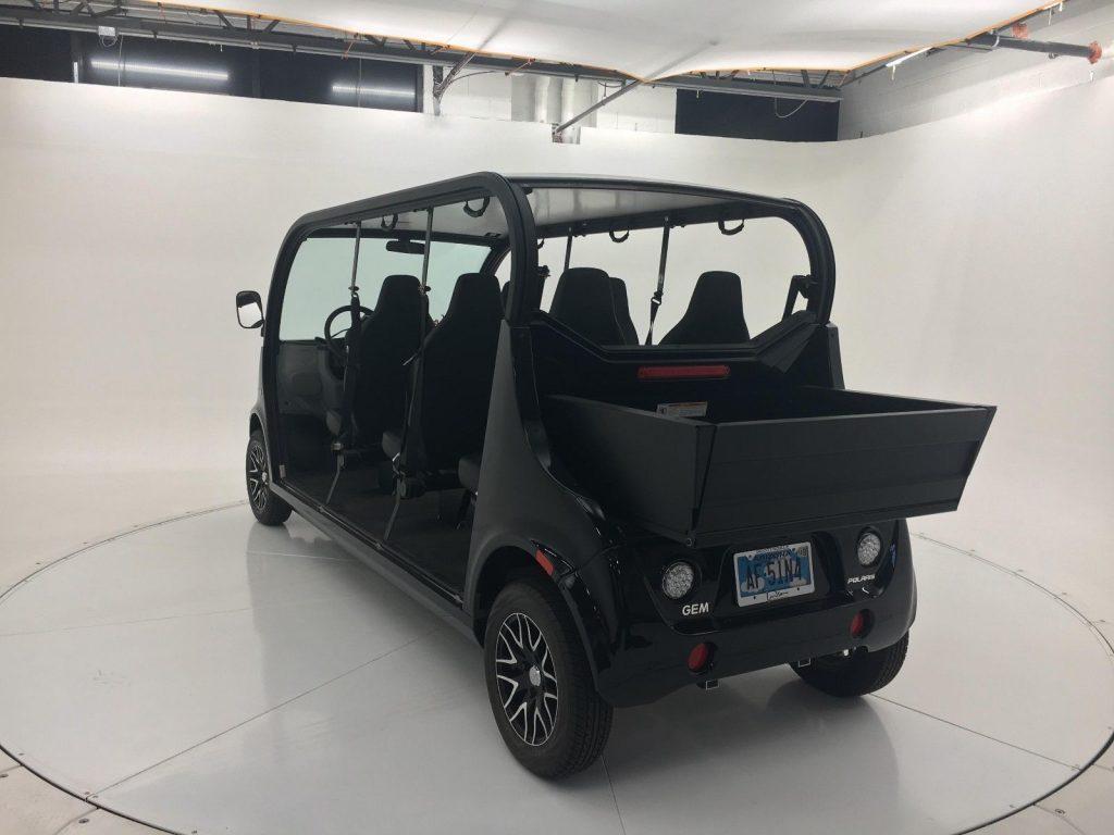 limousine 2017 Polaris GEM e6 golf cart