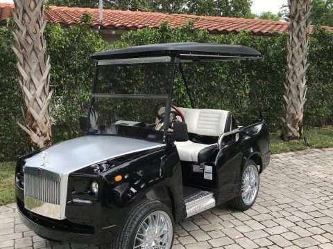 Rolls Royce accents 2018 Excalibur golf cart for sale
