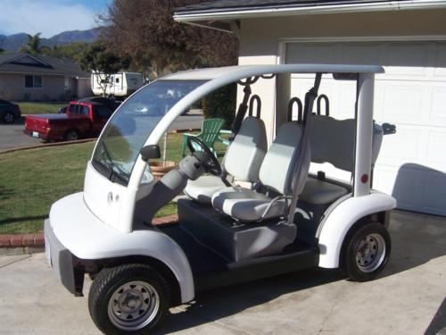 Some Additions 2002 Ford Think 4 Seater Golf Cart For Sale