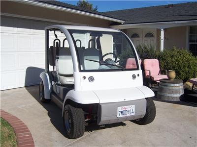 some additions 2002 Ford Think 4 Seater Golf Cart