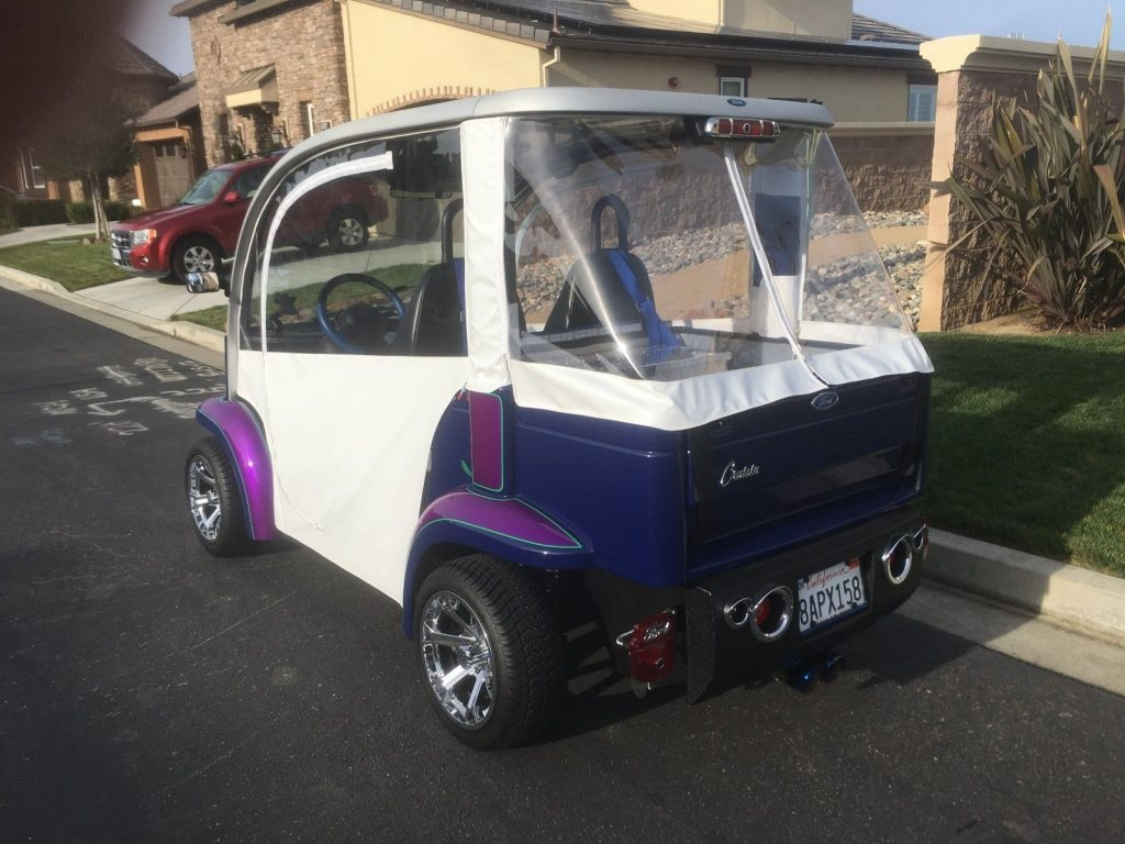 upgraded 2002 Ford golf cart