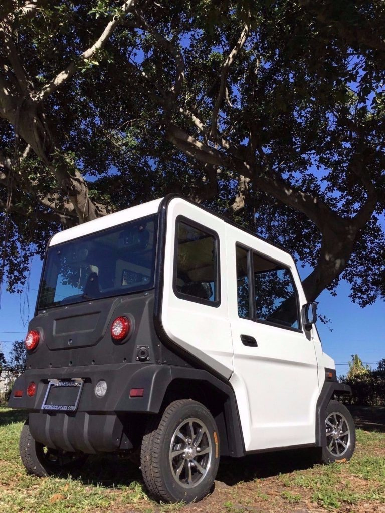 well equipped 2018 Evolution golf cart