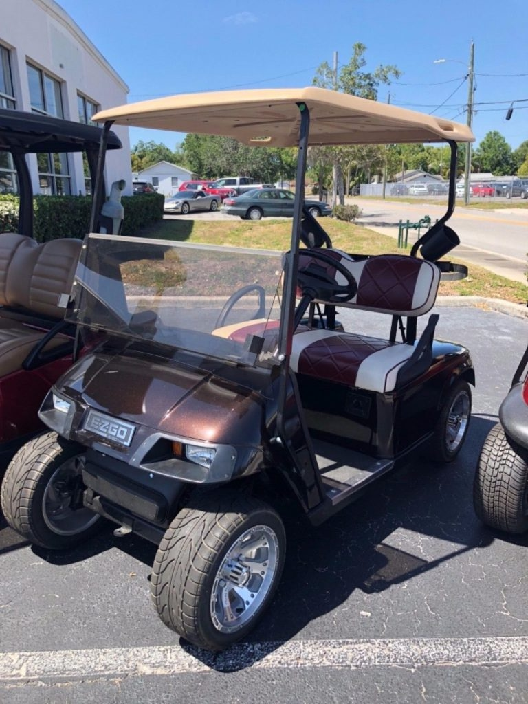 clean 2013 E Z GO TXT EZGO golf cart