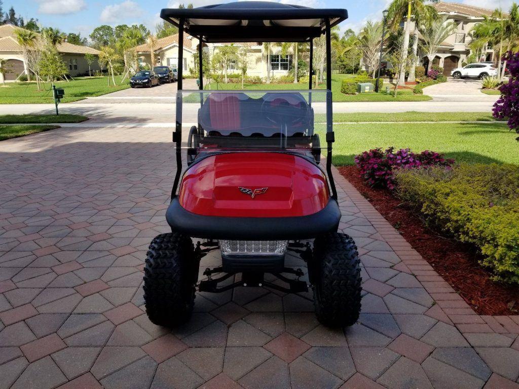 Custom Lifted 2013 Golf Cart