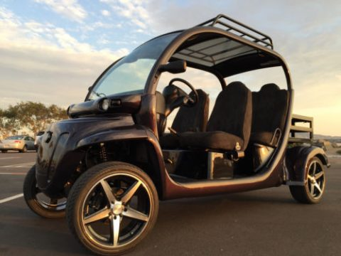 customized 2007 Polaris GEM Golf Cart for sale