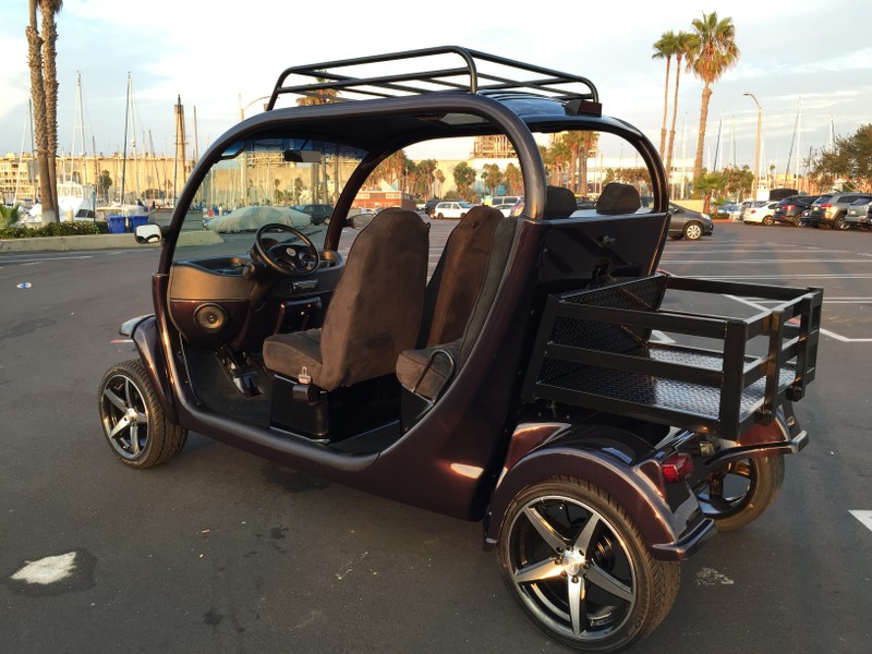 customized 2007 Polaris GEM Golf Cart
