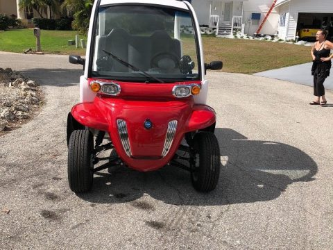 garage kept 2013 GEM Electric CAR 2P golf cart for sale