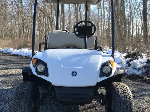 lifted 2010 Yamaha G29 Drive Gas Golf Cart for sale