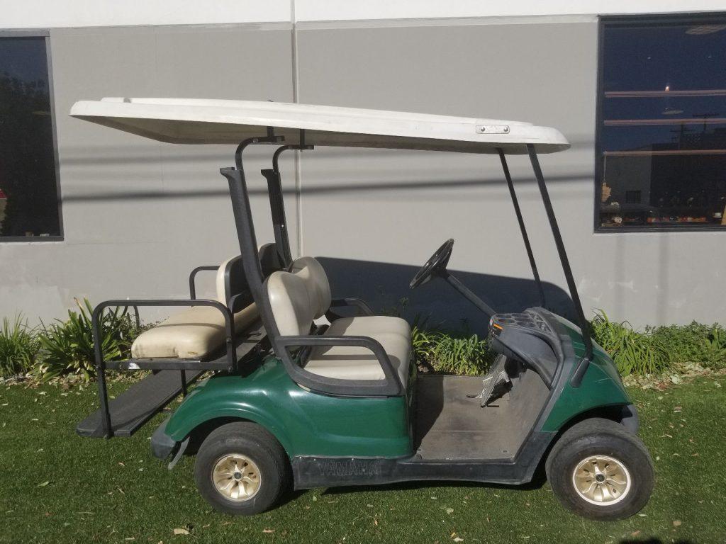 newly upholstered seats 2010 Yamaha Drive golf cart