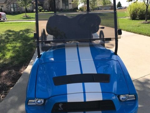 Shelby Gt500 2013 Club Car golf cart for sale