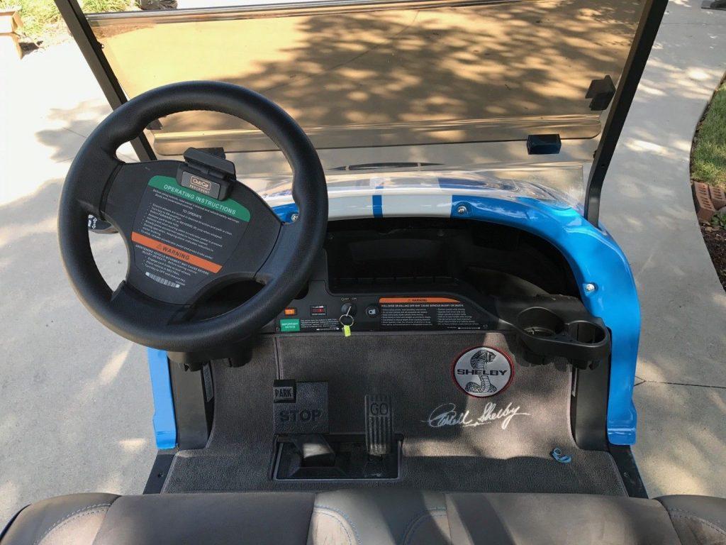 Shelby Gt500 2013 Club Car golf cart