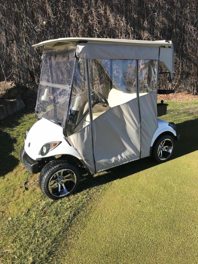 upgraded 2012 Yamaha golf cart