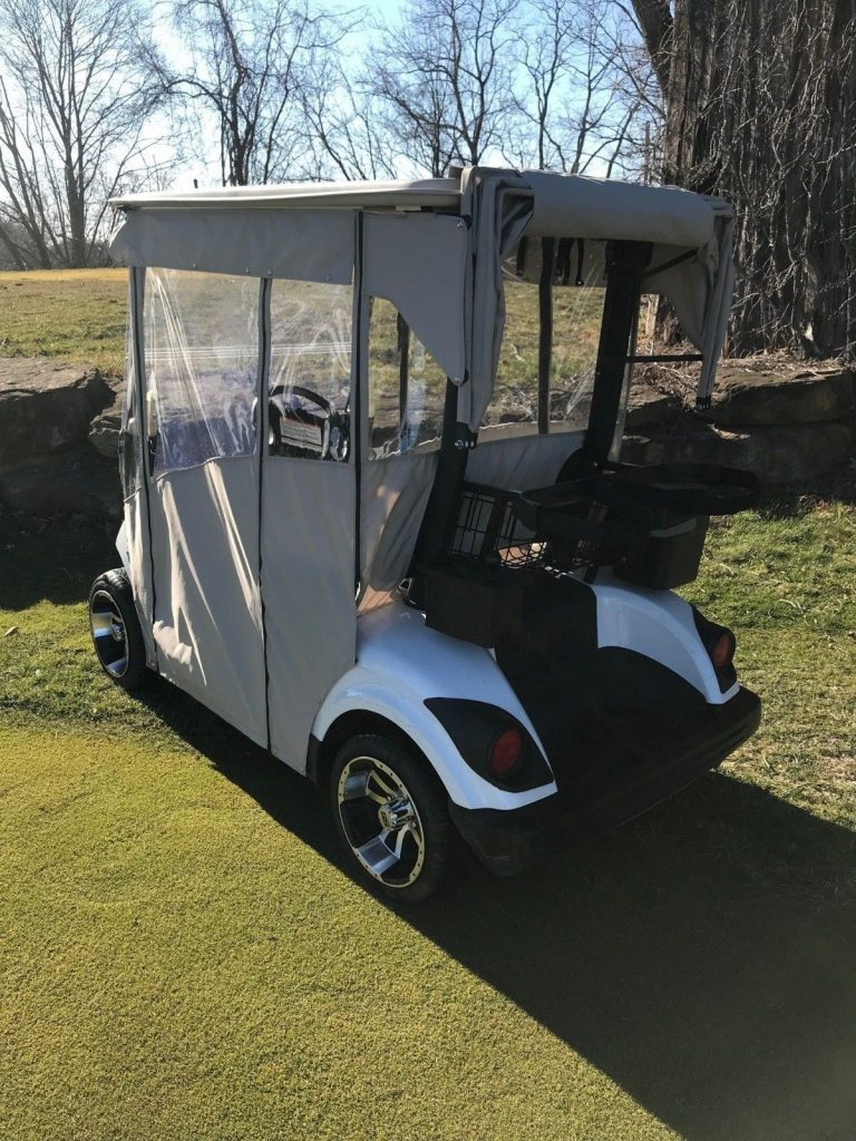upgraded 2012 Yamaha golf cart